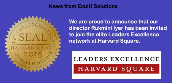 Rukmini Iyer, Member, Leaders Excellence Harvard Square